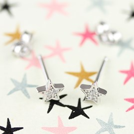 Personalised Children's Star Necklace And Earrings Set
