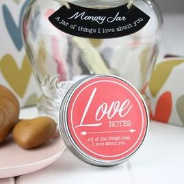 Love Wish And Memory Jar