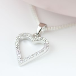 Personalised Children's Heart Pendant