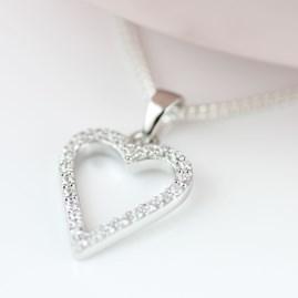 Personalised Children's Heart Pendant