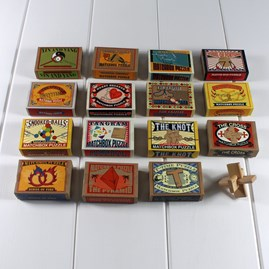 Matchbox Puzzles Wedding Favours