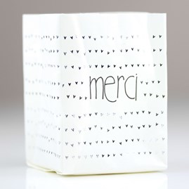 'Merci' Thank You Tealight Holder