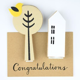 'Congratulations' House Greeting Decoration