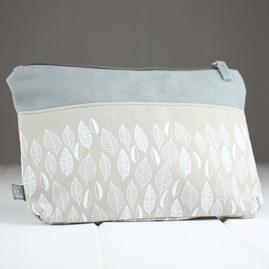 'Leaf' Cotton Make Up Bag