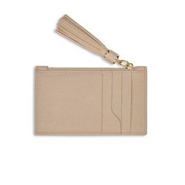 Katie Loxton Sophia Tassel Card Holder In Taupe