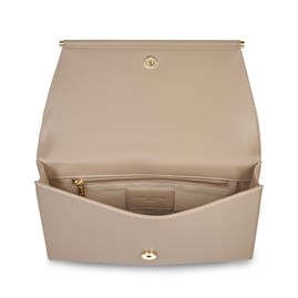 Katie Loxton Ava Clutch In Taupe