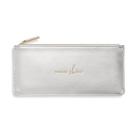 Katie Loxton Personalised 'Time To Shine' Secret Message Purse