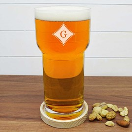 Personalised Monogrammed LSA Pint Glass