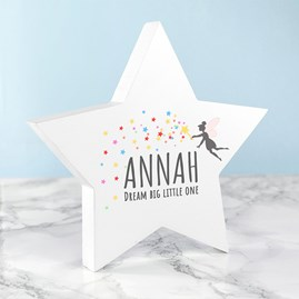 Personalised 'Big Dreams' Keepsake Star