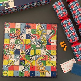Birthday Party Crackers With Snakes & Ladders and Ludo