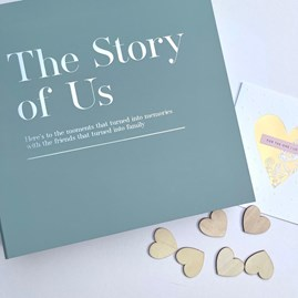 Coffee Table 'The Story Of Us' Memory Album