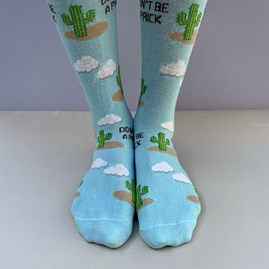 'Don't Be A Prick' Socks