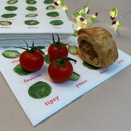 Festive Sprout Table Napkins 20/pack