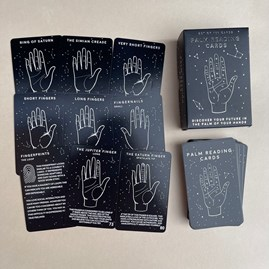 100 Palm Reading Cards