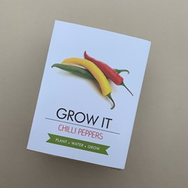 Grow It Chilli Peppers Gift Box