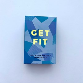 Get Fit Body Weight Workout Cards