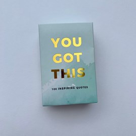 You Got This! 100 Inspirational Quote Cards