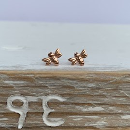 Baby Bee Stud Earrings
