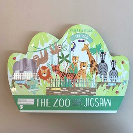 The Zoo 80 Piece Shaped Jigsaw Puzzle