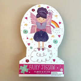 Fairy 20 Piece Shaped Jigsaw Puzzle