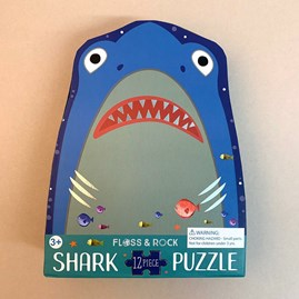 Shark 12 Piece Shaped Jigsaw Puzzle