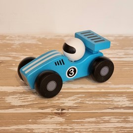 Wooden Racing Car Toy