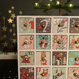 Advent Calendar Box With Drawers