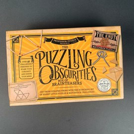 The Puzzling Obscurities Set Of Matchbox Puzzles
