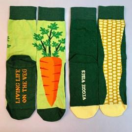 Veg Socks Gift Set Of 4