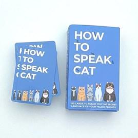 100 How To Speak Cat Cards