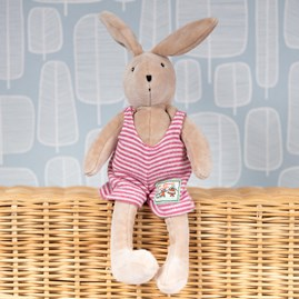 Moulin Roty Tiny Sylvain The Rabbit Soft Toy