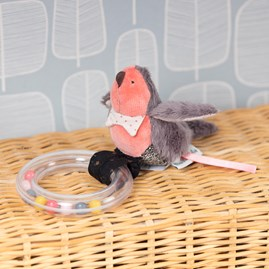 Moulin Roty Bird Ring Rattle