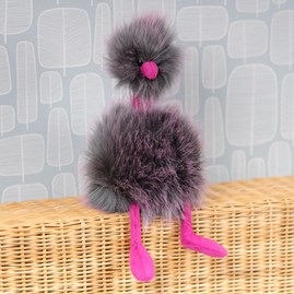 Jellycat Pompom Grey Soft Toy