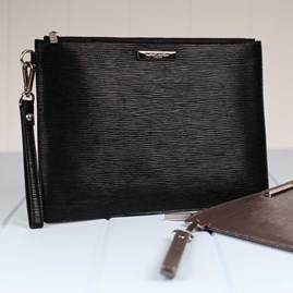 Zara Large Clutch Bag With Detachable Strap
