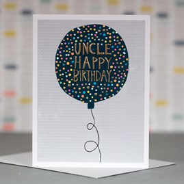 'Uncle Happy Birthday' Greetings Card
