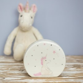 Jellycat Bashful Unicorn Money Box