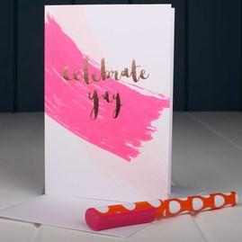 'Celebrate Yay' Greetings Card