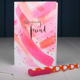 'Amazing Friend' Greetings Card
