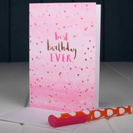 'Best Birthday Ever' Birthday Card