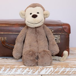 Jellycat Bashful Monkey Medium Soft Toy