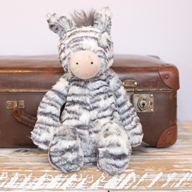 Jellycat Bashful Zebra Medium Soft Toy