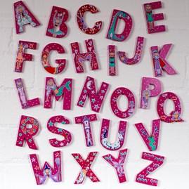 Wooden 'Fairytale' Alphabet Letters