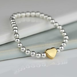 Tilly Children's Gold Heart Bracelet