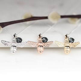 Personalised Queen Bee Necklace