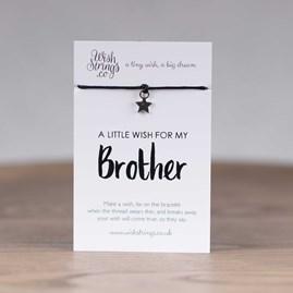 Little Wish 'Brother' Star Wish Bracelet