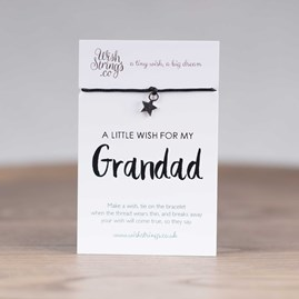 Little Wish 'Grandad' Star Wish Bracelet