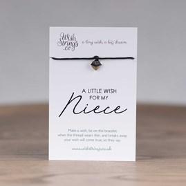 Little Wish 'Niece' Heart Wish Bracelet