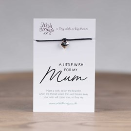 Little Wish 'Mum' Heart Wish Bracelet