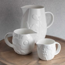 Stylish Bone China Jugs