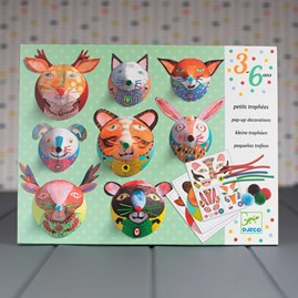 3D Animal Pop Up Decorations Kit
